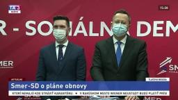 TB podpredsedov strany Smer-SD L. Kamenického a R. Takáča o pláne obnovy