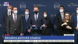 Vyhlásenie premiéra I. Matoviča o konci M. Krajčího vo funkcii ministra