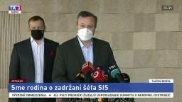 Vyhlásenie B. Kollára a M. Krajniaka k zadržaniu šéfa SIS V. Pčolinského
