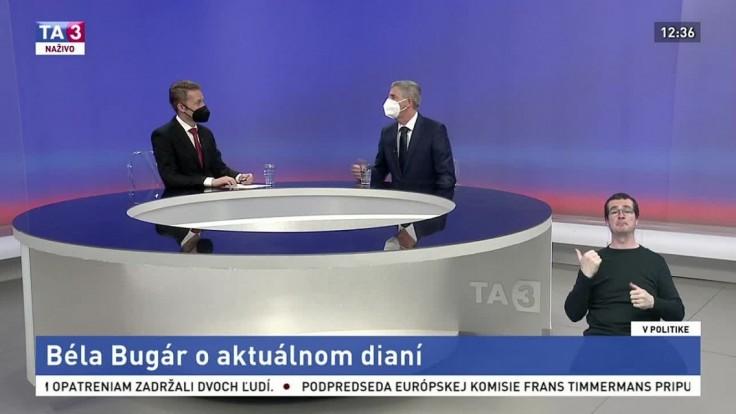 Bugár v TA3: S takou silou v parlamente by boli voľby trestuhodné