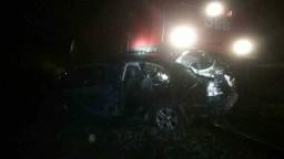 Nehoda v Bratislave: Auto skončilo v koľajisku, zrazilo sa s vlakom