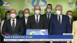 TB ministra hospodárstva R. Sulíka o vládnutí I. Matoviča a koaličnej kríze