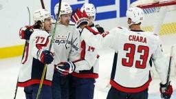 NHL: Pánik sa na triumfe Capitals podieľal gólom, Boston prehral