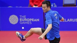 Wang ide na olympiádu, slovenský reprezentant zdolal Gionisa