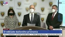 TB prezidenta Finančnej správy J. Žežulku aj o odklade daňového priznania