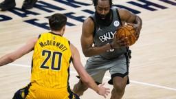 Brooklyn Nets natiahli sériu, Harden zaznamenal jedenásty triple double