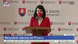 TB poslankyne NR SR J. Bittó Cigánikovej o nevyužitých vakcínach od Pfizeru