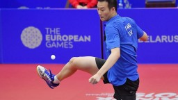 Wang sa predstaví na druhej olympiáde po sebe, kvalifikoval sa v Katare