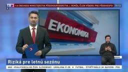 Ekonomické správy z 19. marca