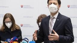 Situácia na Slovensku sa zlepšuje, oznámil Heger. Čísla sú pozitívne