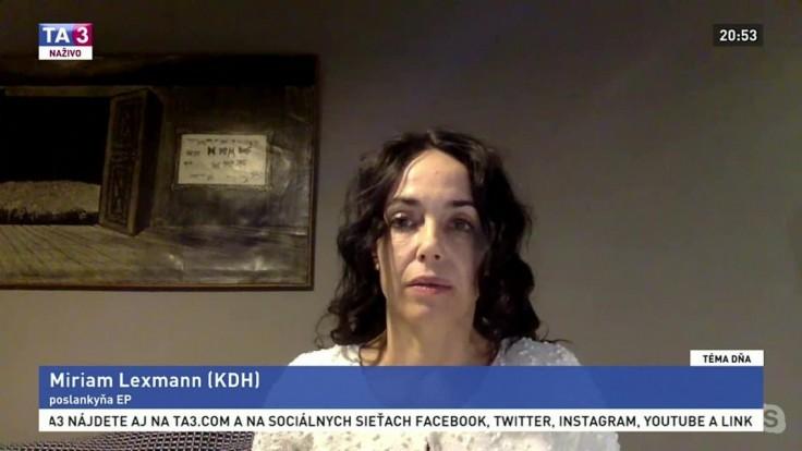 Čína trestá slovenskú europoslankyňu. Naznačila, o aké sankcie pôjde
