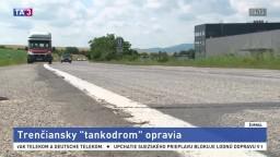 Kritický úsek cesty pri Trenčíne opravia, pôjdu naň milióny eur