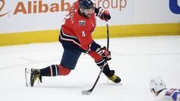 NHL: Washington rozmetal Jersey, Ovečkin si pripísal dva góly