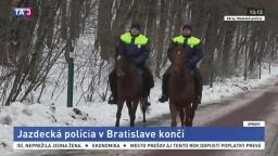 Jazdecká polícia v Bratislave končí, nahradia ju štvorkolky