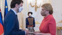 Heger a Čaputová si dohodli čas stretnutia v Prezidentskom paláci