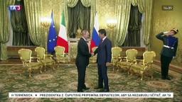 Taliansko vyhostí ruských diplomatov, prichytení boli pri špionáži