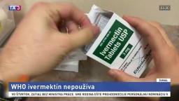WHO neodporúča ivermektín na liečbu pacientov s covidom