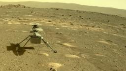 Robotický vrtuľník Ingenuity prežil svoju prvú noc na Marse