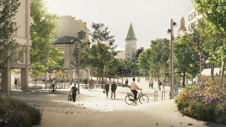 FOTO Bratislavské centrum sa má zmeniť na nepoznanie