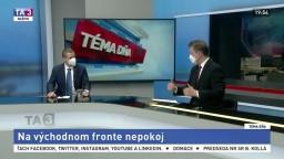 Klus a Kmec o napätí na Ukrajine: Špekuluje sa o viacerých dôvodoch
