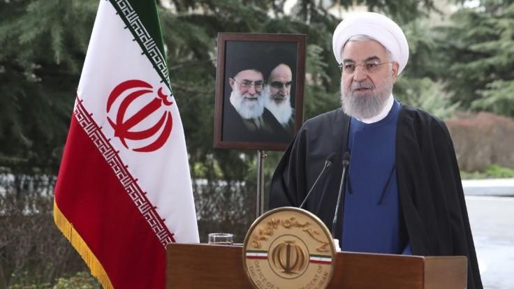 Iránsky prezident Rúhání verí v renesanciu jadrovej dohody
