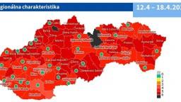 Covid automat: Najviac okresov je v červenej zóne. Čierne sú dva