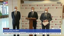 TB I. Korčoka, J. Naďa a J. Krúpu o napätí na ukrajinsko-ruskej hranici