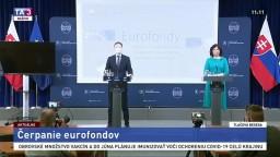 TB premiéra E. Hegera a ministerky V. Remišovej o čerpaní eurofondov