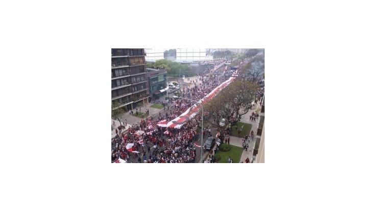 Fanúšikovia River Plate sa pochválili najdlhším transparentom