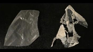 Vďaka enzýmom sa kompostovateľný plast rozpadne už za niekoľko dní