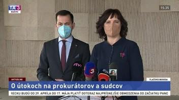TB J. Šeligu a V. Remišovej o útokoch na prokurátorov a sudcov