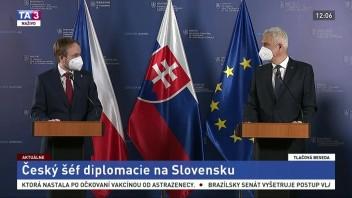 TB ministrov I. Korčoka a J. Kulhánka o spojenectve Česka a Slovenska