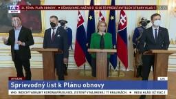 Vyhlásenia Z. Čaputovej, E. Hegera a B. Kollára k Plánu obnovy