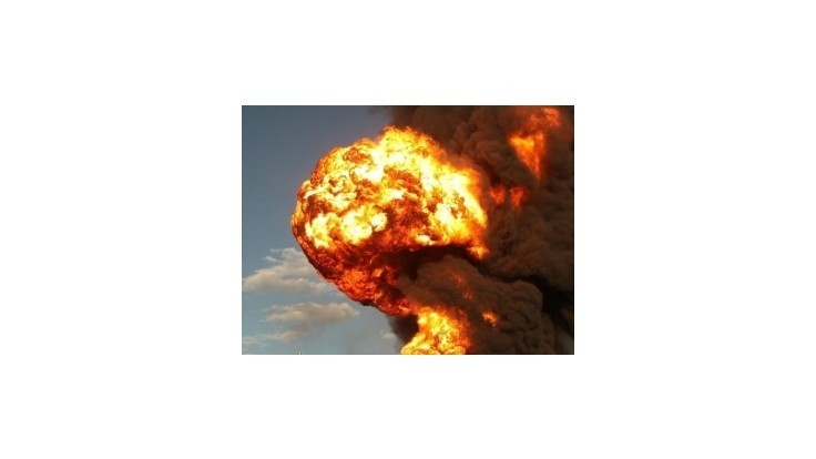 Na ruskej vojenskej základni vybuchlo 4000 ton munície