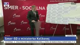 TB poslanca R. Fica aj o podržaní ministerky spravodlivosti M. Kolíkovej