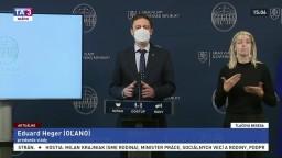 TB premiéra E. Hegera a predstaviteľov vlády o zrušení núdzového stavu