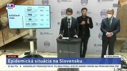 TB V. Lengvarského a M. Mišíka o epidemickej situácii na Slovensku