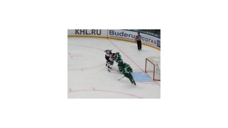 Slovan vybojoval na ľade klubu Salavat Julajev Ufa jeden bod