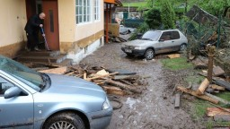 Starosta Rudna opísal, aká je v obci situácia po pretrhnutí hrádze