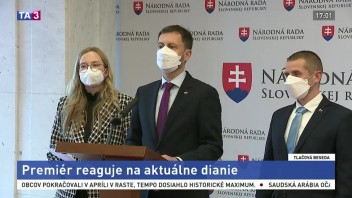 TB premiéra E. Hegera aj o vynútenom pristátí lietadla v Minsku