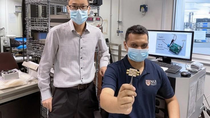 Vedci zbierajú Wi-Fi signály pre napájanie LED diódy