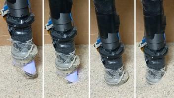 Robot Digger Finger sníma predmety zakopané pod povrchom