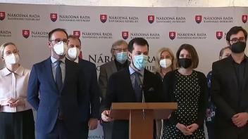 TB predstaviteľov strany Za ľudí o voľbe podpredsedu NR SR