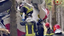 Troch zadržaných po páde lanovky v Taliansku prepustili z väzby