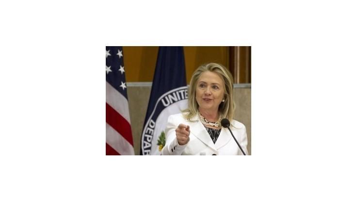 Clintonová vzala na seba vinu za zlyhanie bezpečnosti v Benghází
