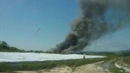Požiar skládky nebezpečného odpadu hasiči lokalizovali, preverujú kvalitu ovzdušia