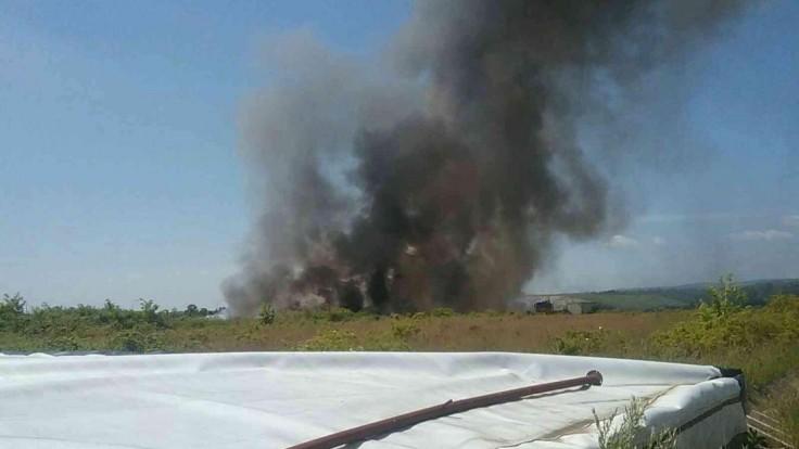 Požiar skládky v Budmericiach preverovala inšpekcia