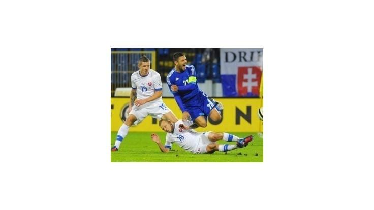 Slováci prehrali s Grékmi 0:1