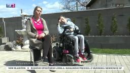 Káčer na bicykli 2021: Sebastián má spinálnu muskulárnu atrofiu, potrebuje drahé rehabilitácie