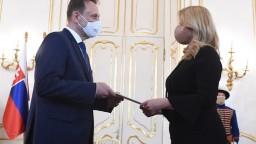 Prezidentka vymenovala Vlčana za ministra pôdohospodárstva